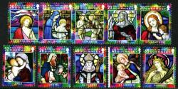 2005 Christmas Stained Glass