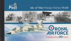 2008 £9.68p Royal Air Force 90th Anniversary (SB69)