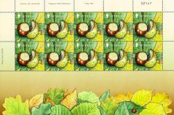 2011 £2 Europa Forests Stamp Sheet