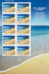 2012 International 20g Europa Visit Guernsey Stamp Sheet