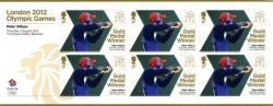 2012 Olympic Games Peter Wilson Shotgun Mens Double Trap MS