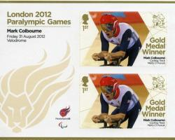2012 Paralympic Games Mark Colbourne Cycling Mens Pursuit MS