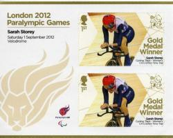 2012 Paralympic Games Sarah Storey Womens Cycling MS