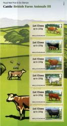 2012 Post & Go Cattle Farm Annimals 3rd issue pack (P&G 9)