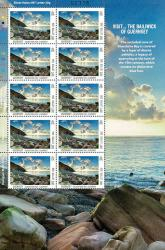 2012 UK Letter Europa Visit Guernsey Stamp Sheet