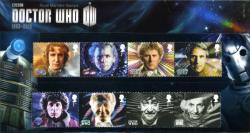 2013 Doctor Who Pack containing Miniature Sheet