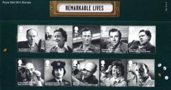 2014 Remarkable Lives pack
