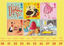 2016 Pop Culture of the 1950's 6 x stamps MS
