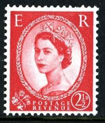 SG 574k 2½d Chalky red