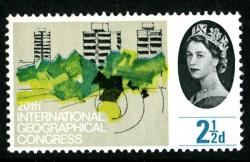 1964 Geographical 2½d