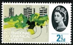 1964 Geographical 2½d phos