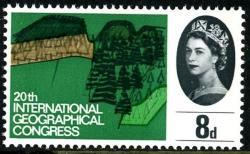 1964 Geographical 8d phos