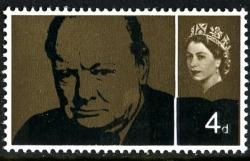 1965 Churchill 1s 3d phos