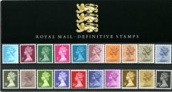 1984 ½p to 75p Pack No.5