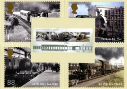 PHQ345  2011 Classic Locomotives of England