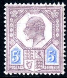 SG242a  5d dull purple & ultramarine chalky