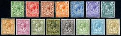 SG351-396  George V 1912 Set of 15 ( including 9d olive-green)