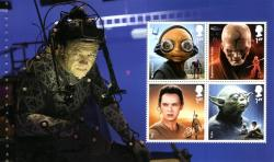 SG3759c  2017 Star Wars 4 x stamps including Yoda