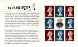 SG: 3012b  2013 Merchant Navy An Island Nation