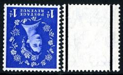 SG 588wi 1d ultramarine watermark inverted