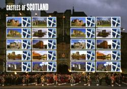 SG: LS68  2009 Castles of Scotland