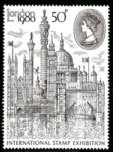 1980 London Exhibition 50p