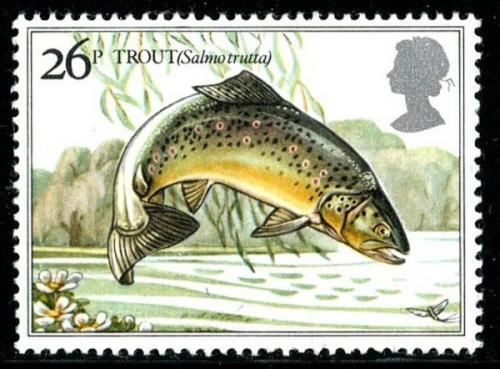 1983 Fishes 26p