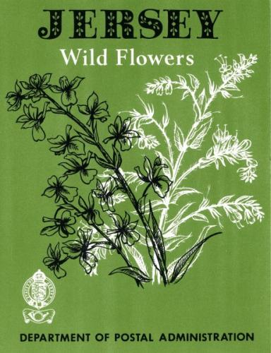 1972 Wild Flowers of Jersey pack