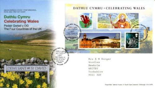 2009 Celebrating Wales MS Cover