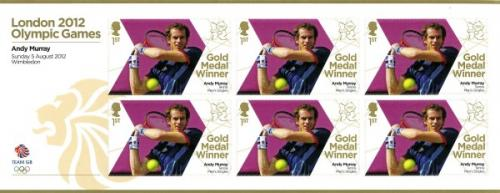2012 Olympic Games Andy Murray Tennis Mens Singles MS