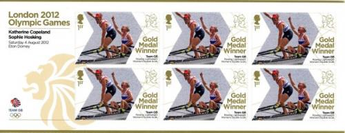2012 Olympic Games Team GB Rowing Lightweight Double Skulls MS