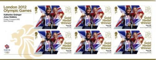 2012 Olympic Games Team GB Rowing Womens Double Skulls MS