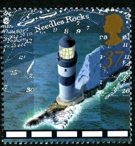 1998 Lighthouses 37p