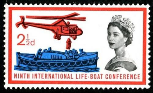 1963 Lifeboat 2½d
