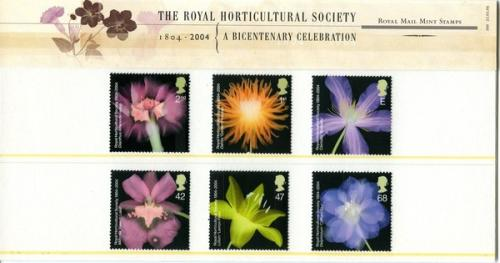 2004 Horticultural Society pack