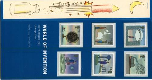 2007 Invention Self-adhesive pack