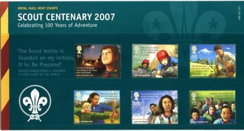 2007 Scout Centenary pack