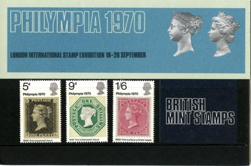 1970 Philympia pack