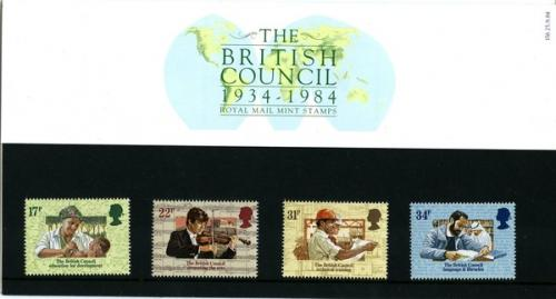 1984 British Council pack