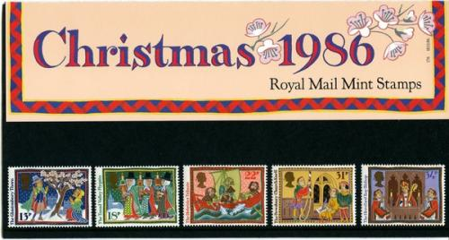 1986 Christmas pack