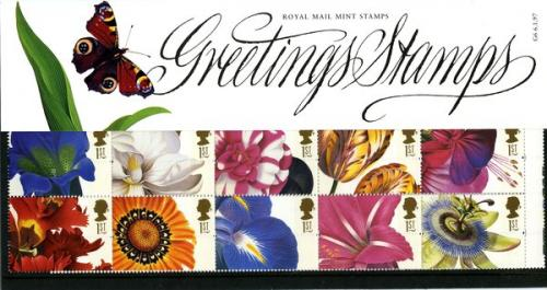 1997 Greetings Flowers pack